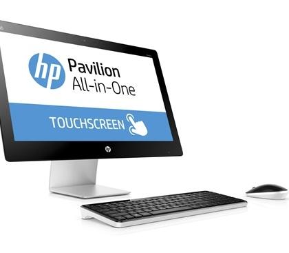 hp 23 touchscreen
