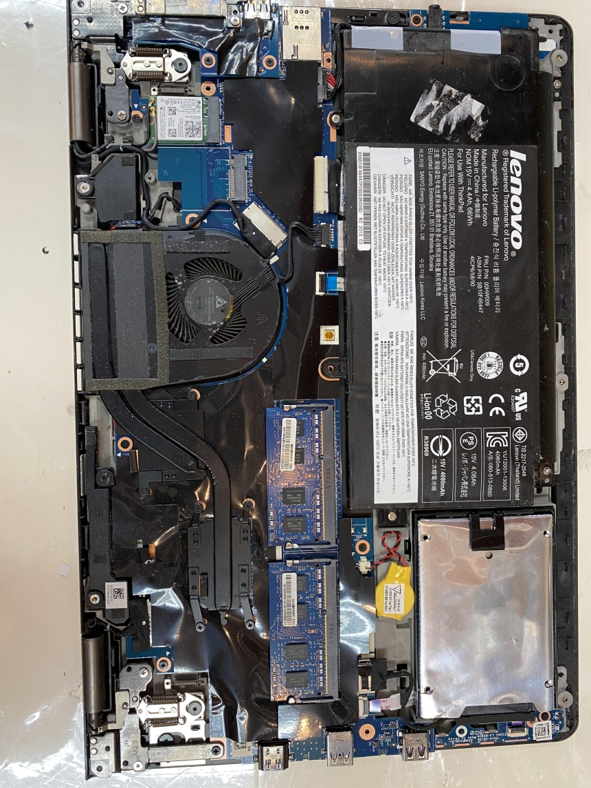 Lenovo ThinkPad ultra book battery replacement