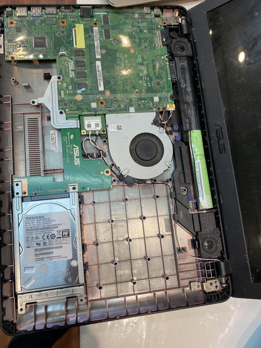 Laptop motherboard repair, asus repair