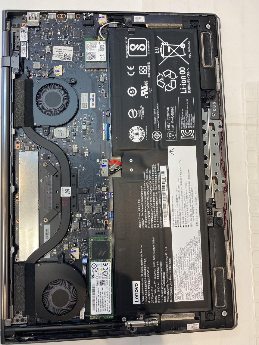 Lenovo Yoga C930-13IKB battery Replacement